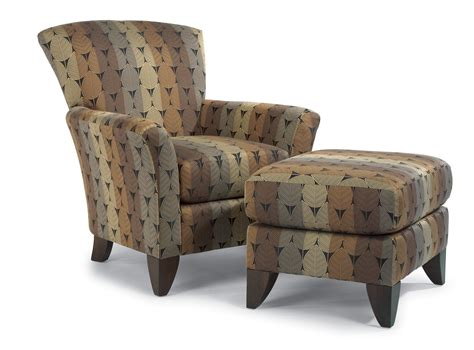 accent chair and ottoman set flexsteel accents jupiter chair and ottoman set