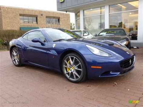 Ferrari 456 gta m 1999 tour de france blue with oatmeal leather piped in black. Blu tour de France (Blue Metallic) 2013 Ferrari California ...