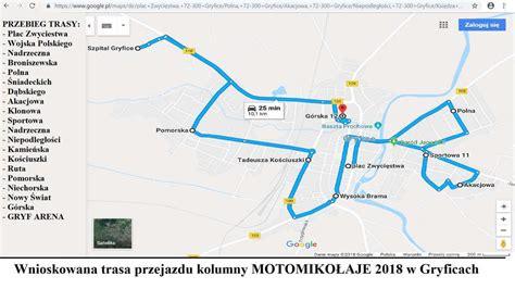 motomikołaje gryfice 2018 eskorta świętego łaja parada motocykli lokalny portal