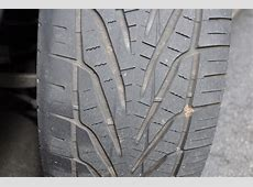 What causes this type of tire wear? MBWorldorg Forums