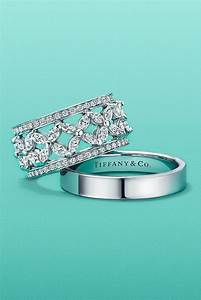 Tiffany Ring Diamant : tiffany victoria band ring in platinum with diamonds and tiffany flat band ring in platinum ~ Buech-reservation.com Haus und Dekorationen