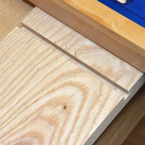 Tapered Sliding Dovetails Stepbystep Pictorial