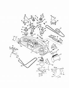 Husqvarna Lawn Mower Deck Diagram