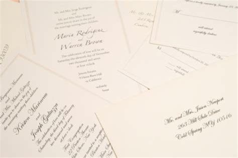 Traditional and Non Traditional Wedding Invitation