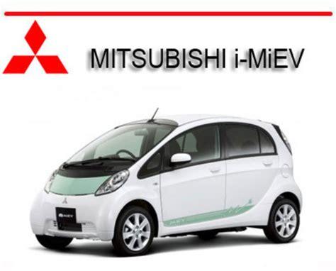 old car manuals online 2012 mitsubishi i miev electronic valve timing mitsubishi i miev 2010 2012 workshop service repair pdf manual