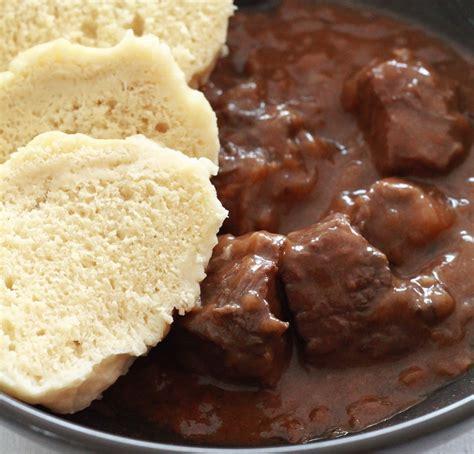 recherche de recettes de cuisine recette goulash tcheque au boeuf de la cuisine tchèque
