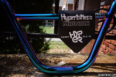 @hyperbmx Mainiac Bars Jet Fuel Colorway