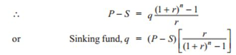 Sinking Fund Formula For Depreciation by Different Methods Of Determining Depreciation Of Power Plant