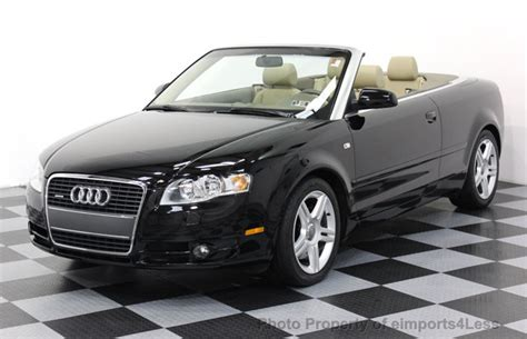 best audi a4 2007 2007 used audi a4 2 0t cabriolet quattro awd at