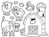 Farm Coloring Pages Print sketch template