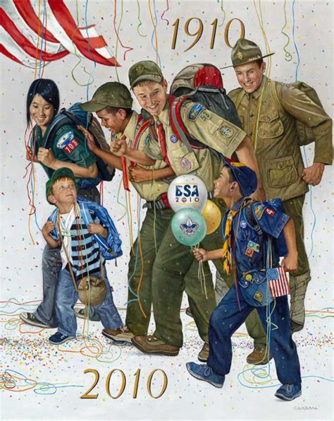 SCOUTING: 100 YEARS OF ADVENTURE   Triangle Arts and ...
