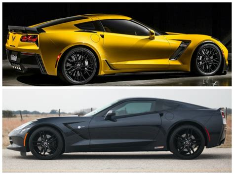 Hennessey Hpe650 Supercharged C7 Corvette Vs. 2015
