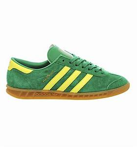 Adidas Hamburg Trainers Green Bright Yellow Gu His trainers