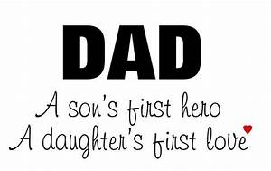 Best Dad Quotes From Daughter, Love Messages For Father's ...