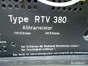 Kolekcjonerski Amplituner Rtv 380 Grundig Nowy S U0105cz