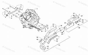 Arctic Cat Side By Side 2011 Oem Parts Diagram For Engine