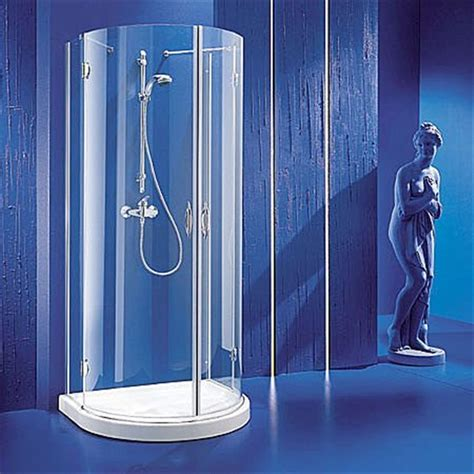Shower Niche Height by Urano Semi Circular Shower Enclosure