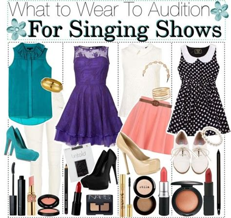 What to Wear When Auditioning for Singing Shows | Musical theatre Polyvore and Clothes