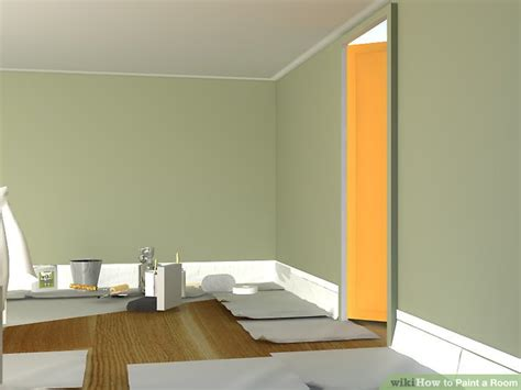 How To Paint A Room (with Pictures)  Wikihow. Room Dividers For Studio Apartments. Solar Christmas Outdoor Decorations. Decorative Ladder Shelf. Decorative Salad Plates. Dining Room Area Rug Ideas. Design A Room Layout. Blue Bedroom Decor. Carpet For Kids Room