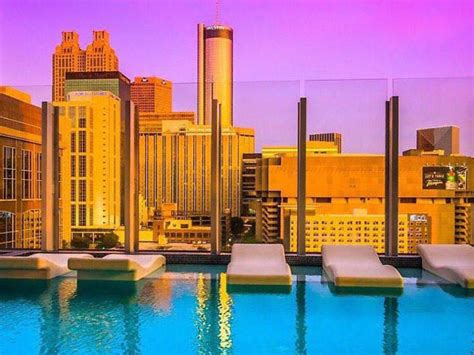 W Hotel Atlanta Rooftop Bar by 11 Best Rooftop Bars In Atlanta For Drinks And Cool Breezes