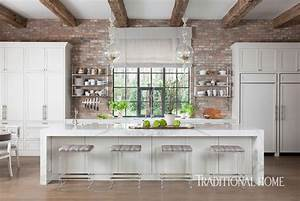 Texas Kitchen with Rustic Glamour | Traditional Home