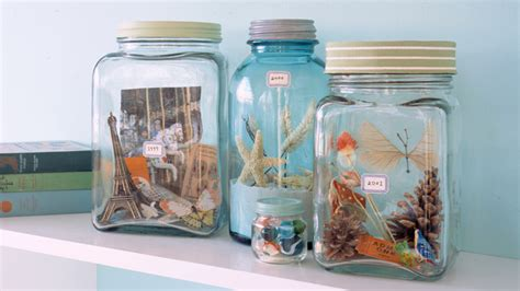 vacation memory jars martha stewart