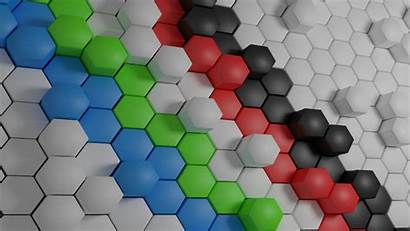Hexagon Shape Pattern Sphere Texture Line Symmetry