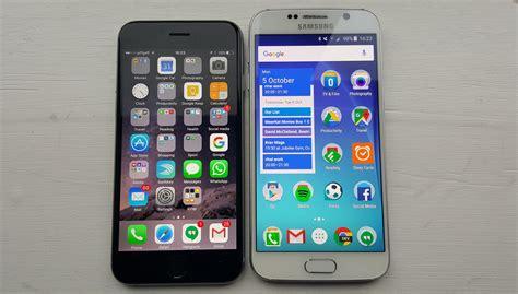 galaxy vs iphone iphone 6s vs galaxy s6 review brilliant failed smartphones