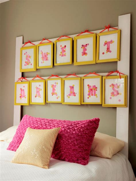 How to Make a Headboard With Picture Frames   how tos   DIY