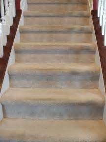 Carpet To Hardwood Stairs by Remodelaholic Under 100 Carpeted Stair To Wooden Tread
