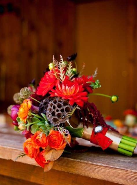 wedding bouquet inspiration dahlia green magenta