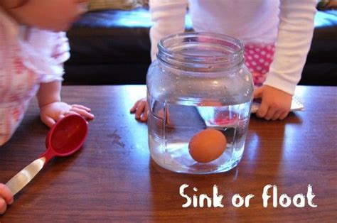 science experiment the floating egg jars water me and