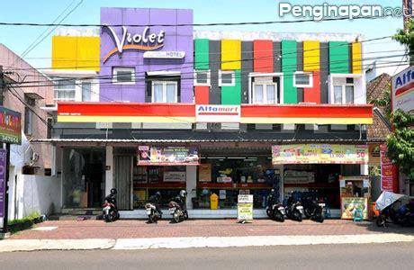 violet syariah hotel tempat inap murah dekat alun alun