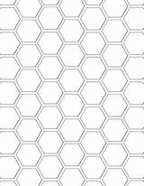 Honeycomb Coloring 84kb 640px sketch template