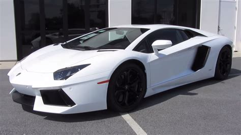 lamborghini aventador lp  start  exhaust test drive   depth  youtube