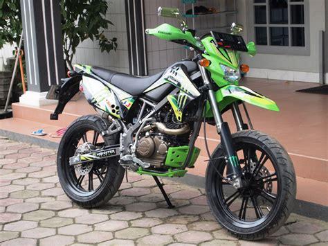 D Tracker 150 Modif Supermoto by Kumpulan Foto Modifikasi Kawasaki D Tracker 150 Terbaru