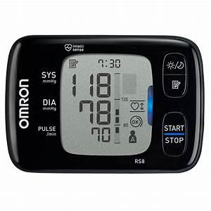 Omron Rs8 Wrist Bp Monitor Hem-6310f-e