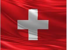 Die Flagge der Schweiz 014 Hintergrundbild