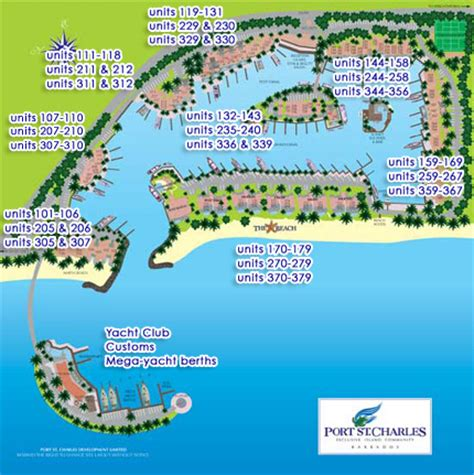 site plan port st charles barbados property sales
