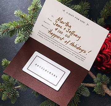 pottery barn gift card balance gift services pottery barn