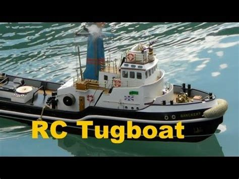Sleepboot Rc by Rc Model Tugboat The Wooden Boat Rc Boat Festival Youtube