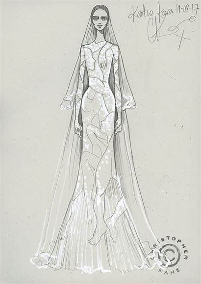 Vogue Kane Lace Christopher Gowns Katie
