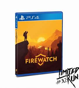 Limited Run 32 Firewatch PS4 Limited Run Games