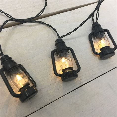 lantern string lights black lantern led string lights battery operated