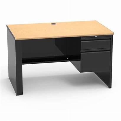 Desk Teacher Pedestal Right Rectangle Classroom Furniture