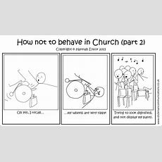 Stickman Communications How Not To Behave In Church