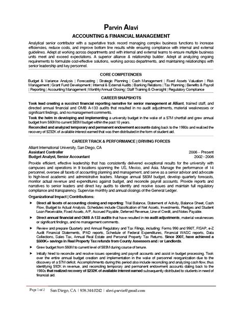 sle federal budget analyst resume 28 images sle