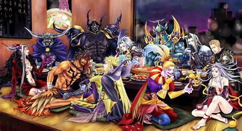 dissidia final fantasy wallpaper  background image