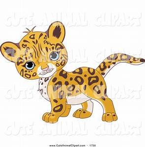 Cute Jaguar Clipart - Clipart Bay