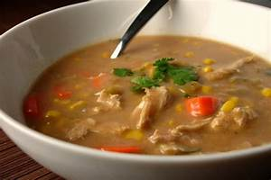 Creamy Mexican Turkey Soup JW Recipes